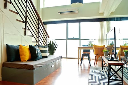 1BR Greenbelt Central Makati Loft - Makati