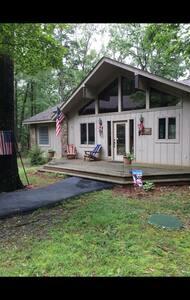 Lakefront cabin near golf resort! - Casa