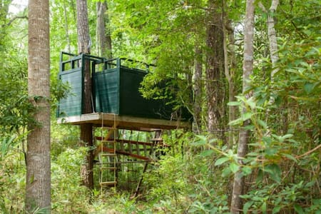 Tarzan's Roost - Wilmington - Treehouse
