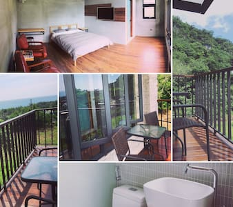 好待goodstay 2F海景2人房double-bed room2F - House