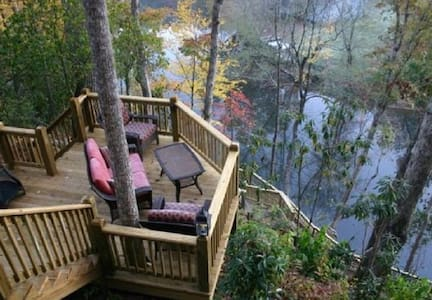 Tranquility At River's Bend - Ellijay - Cabin