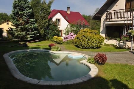 Pronájem Apartmánu s bazénem Šumava - Lčovice - Casa