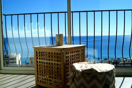 Modern appartment with a stunning seaview - Nice