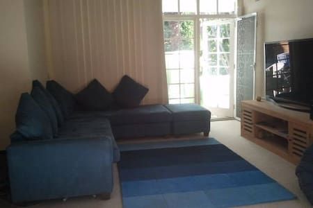 Sofabed in lounge room - Pymble