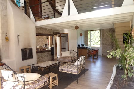 Superbe propriété maison+yourte 276m2 20' Hossegor - Josse