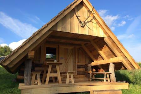 Wooden glamp cabin #2 - Radovljica