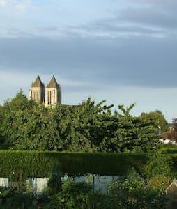 Ma maison à Noyon, chambre jardin - Noyon