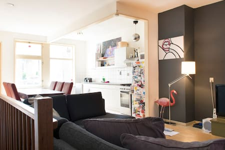 Dam square 2floor Apartment  and 4 double-Bedrooms - Amsterdam