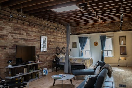 Authentic, chic, open concept loft - Toronto - Loft