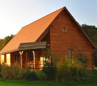 Maison bois 8 personnes - House