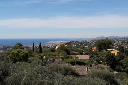 Jolie villa sur collines niçoises - Hus