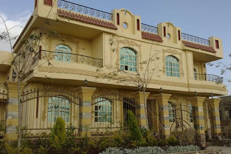 Luxury Villa Apart zayed city close Mall of Arabia - Huvila