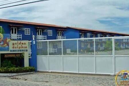 Flat confortável à 200 da praia de Taperapuan - Porto Seguro - Apartamento