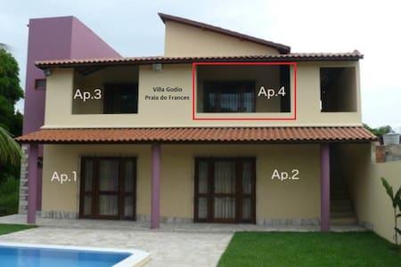 1 Apt. de 4 em linda casa Praia do Frances Apt.n.4 - Apartment