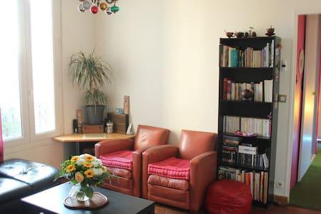 Chambre confortable - Cosy room - Ivry-sur-Seine - Appartement