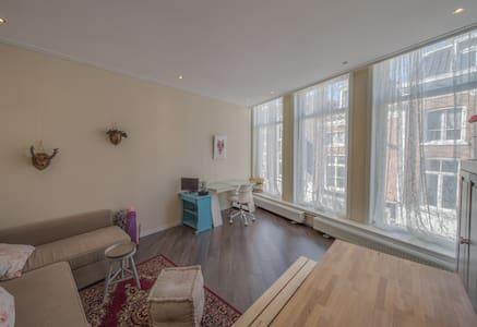 Licht en ruim appartement in hartje centrum - Wohnung