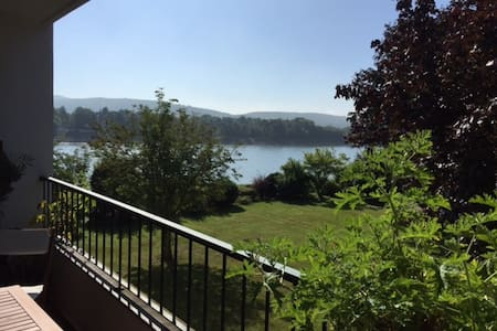 River View: 2 bedroom apartment & sunny balcony - Remagen - Apartment
