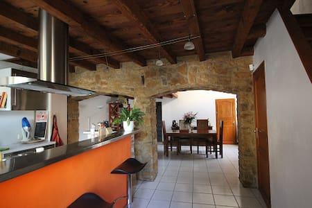 Maison de village au coeur du beaujolais - Anse - Casa