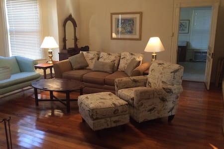 Crutchfield House Downstairs - Whiteville - Maison