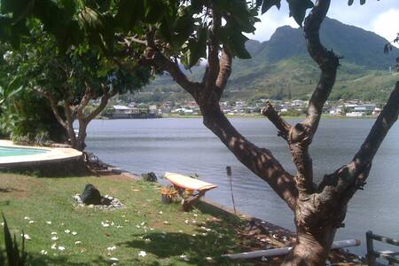 Pleasant Room on Gorgeous Enchanted Lake - Kailua - House