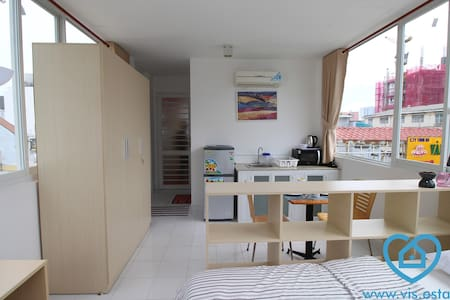 Nice studio with bright view in D1 - Wohnung