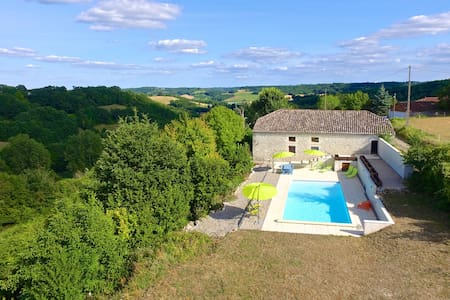 Carmes, Stunning Barn Conversion - Dom
