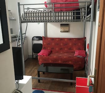 Studio avec lit 2 personnes +bz - Lons-le-Saunier