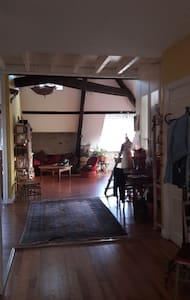 Chambre dans bel appartement F4 vue sur Pyrénées - Lejlighed