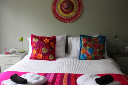 The sunny green mexi room - Blenheim - Bed & Breakfast