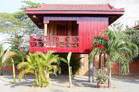 Traditional Khmer House - Bungalow