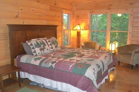 Bear Butte: New 2/2 Log Cabin in Cherry Log Mtn - Cabaña