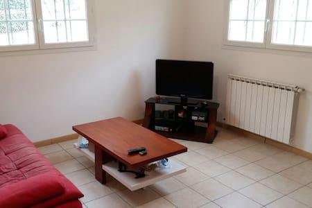 appartement dans maison avec piscine et barbecue - Hasparren