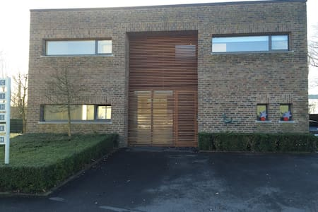 Studio E Kanaalzicht 5min v Brugges - Lakás