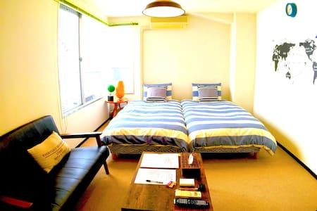 J1.3min walk to Gotanda! A room near Meguro River! - Shinagawa-ku - Apartament