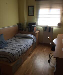 Habitación INDIVIDUAL privada. - Apartment