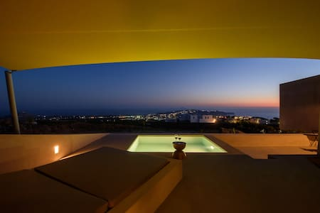 albus luxury suite - Pyrgos Kallistis - Appartement
