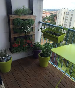 Lumineux au calme proche de Lyon - Apartamento
