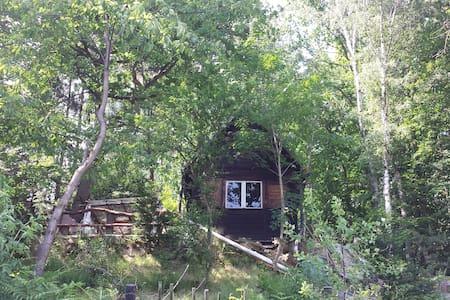 Wanderhütte der Zweisiedler - am Malerweg - Barraca