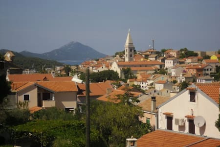 Room in Mali Lošinj - great view, nice hosts - Hus