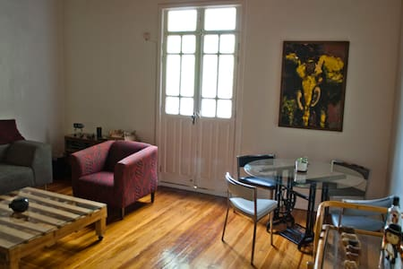 Cute+spacious room at traditional mexican quarter - Mexiko-Stadt - Wohnung