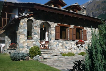 Casa di montagna a 850m - Aamiaismajoitus
