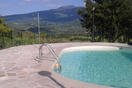 ROSA: Apartments with pool - Castel del Piano Montenero d'Orcia