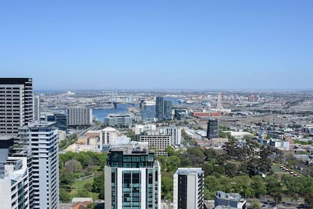 Sleep me at best location with view - Melbourne - Apartment