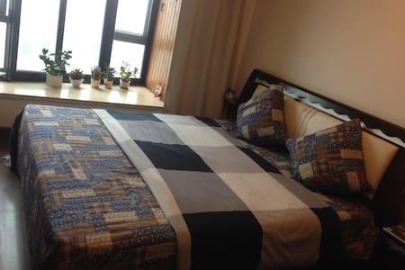 Big cozy King bedroom with bathroom|风景优美舒适独卫大床房 - Apartment