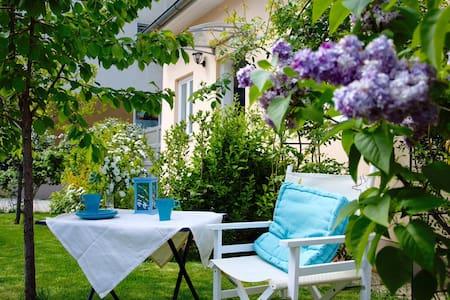 Kleine Ferienwohnung mit Garten - Apartament