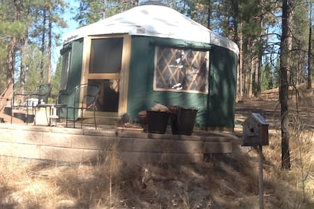 Unique Spokane River Pacific Yurt - Ford - Maison