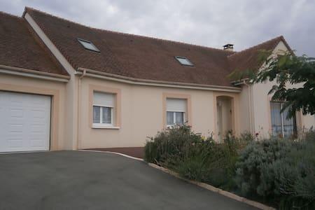 3 chambres  proche Le Mans (42 euros chacune) - Saint-Mars-sous-Ballon - Lägenhet