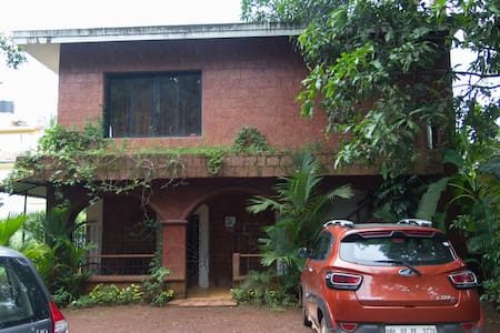 2 Bedroom House in a Quiet Village, Guirim, Goa - House