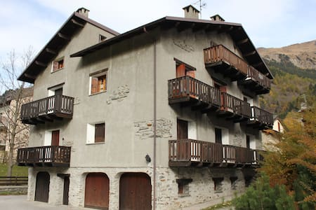 Rustic little penthouse in Campodolcino - Campodolcino - Apartmen