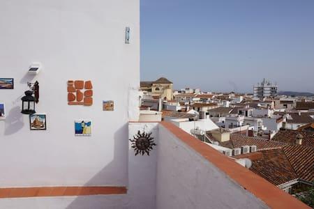 Historic townhouse with terrace & BBQ - Complexo de Casas
